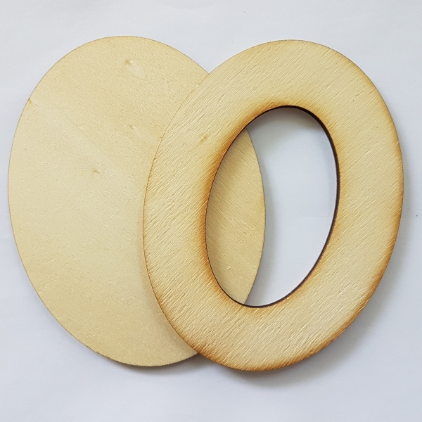 Rama din lemn 5 x 8 cm 0