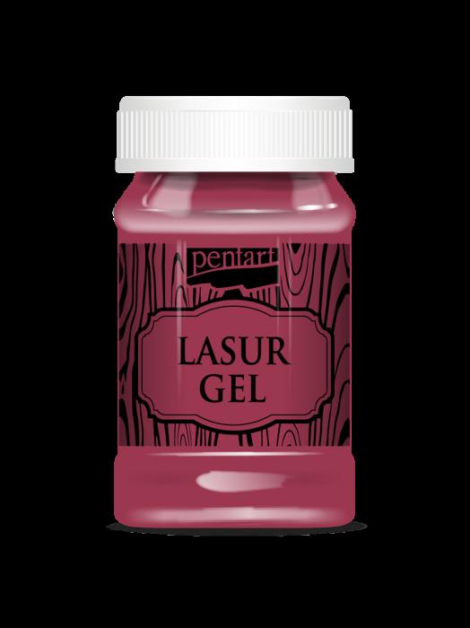 Lazura gel rosu 0