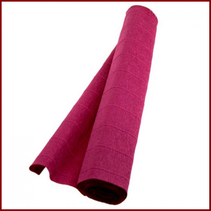 Hartie creponata floristica 180 g 50x250 cm- Rosu inchis 0
