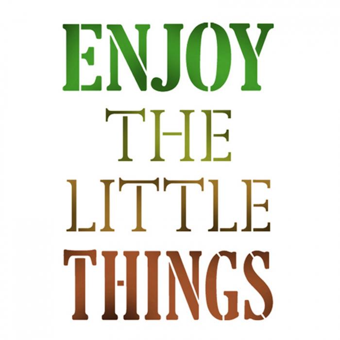 sablon-flexibil-stamperia-ksg334-enjoy-the-little-things 0