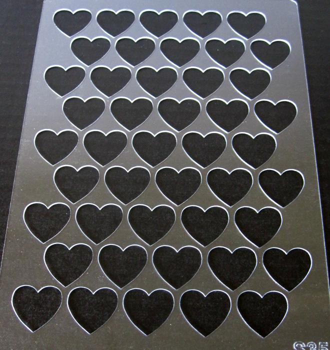 Sablon plastic - Valentine's 0