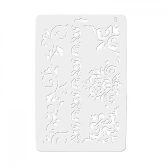Sablon plastic flexibil - Colturi si borduri 1