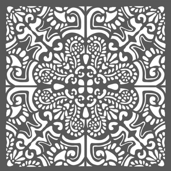 sablon-plastic-flexibil-mix-media-mandala 0