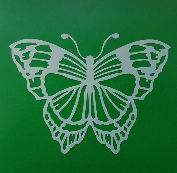 Sablon plastic flexibil - Model fluture 1