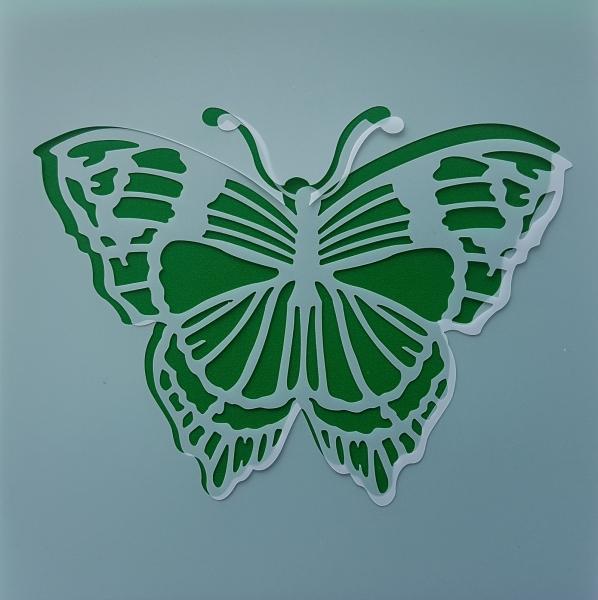 Sablon plastic flexibil - Model fluture 0