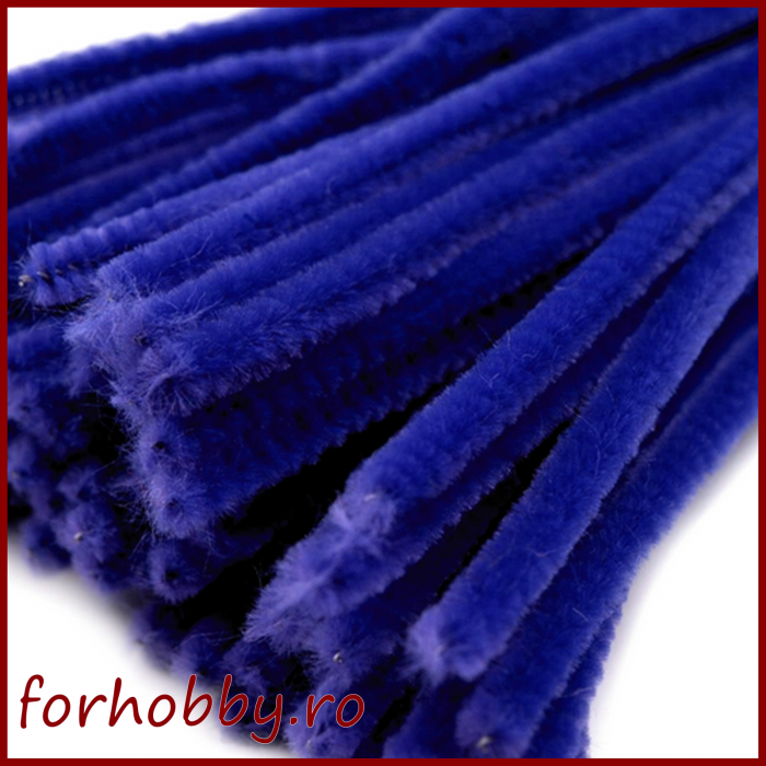 Sarma plusata 30 cm - Albastru inchis