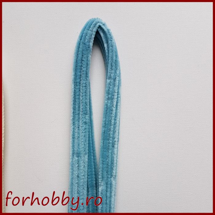 Sarma plusata 50 cm- Albastru deschis 0