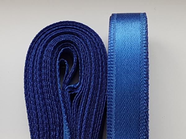 Saten albastru 20 mm 1