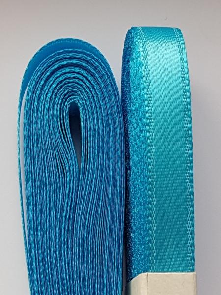 Saten albastru azuriu10 mm 0