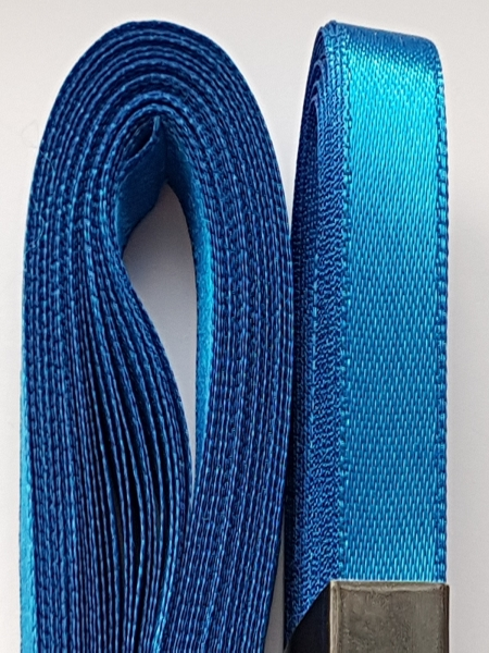 Saten albastru 10 mm 0