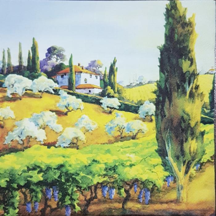 Servetel decorativ Ti-Flair - Dealurile Toscanei 0