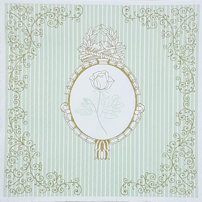 Servetel decorativ trandafir 0
