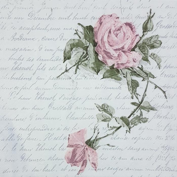 Servetel decor Sagen Vintage- Trandafiri 0
