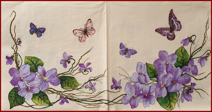 servetel-decorativ-33x33cm-viorele 0