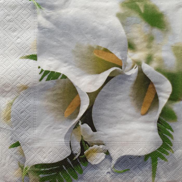 Servetel decorativ Flori 0