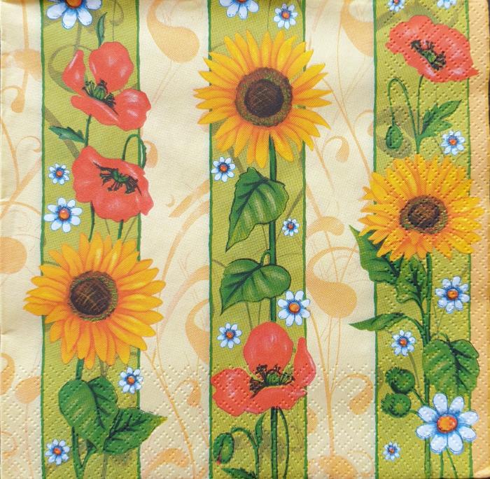 Servetel decorativ Flori de vara 0