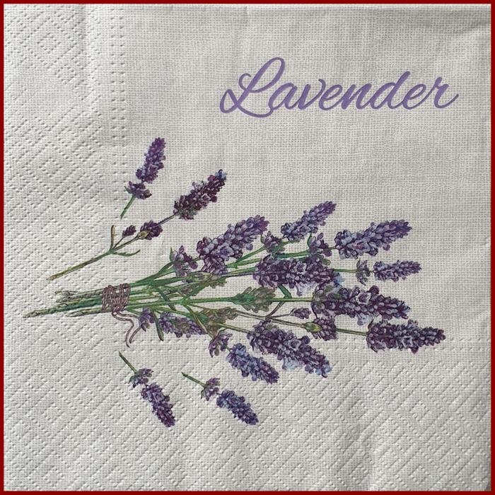 servetel-decorativ-floral-33x33-lavanda 0