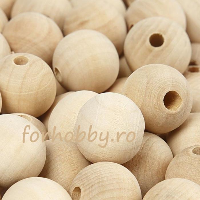 Set 10 bile lemn de diam. 20 mm 0