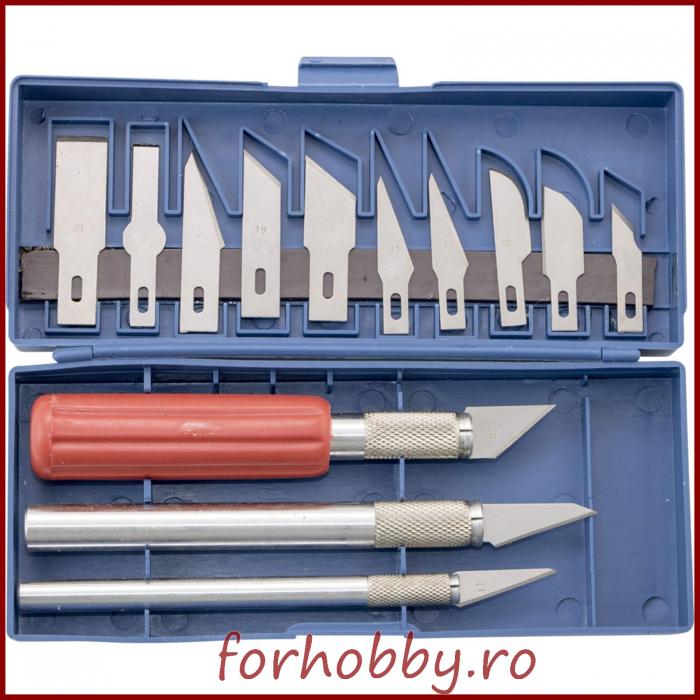 Set cuttere hobby 0