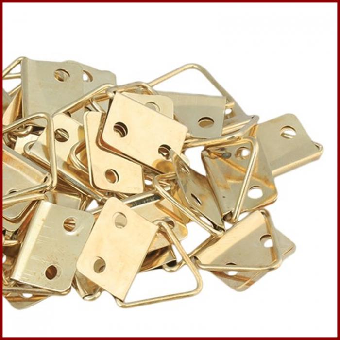 Set agatatori metalice pentru tablouri 0.7 x 1 x 1.2 cm/10bc 1
