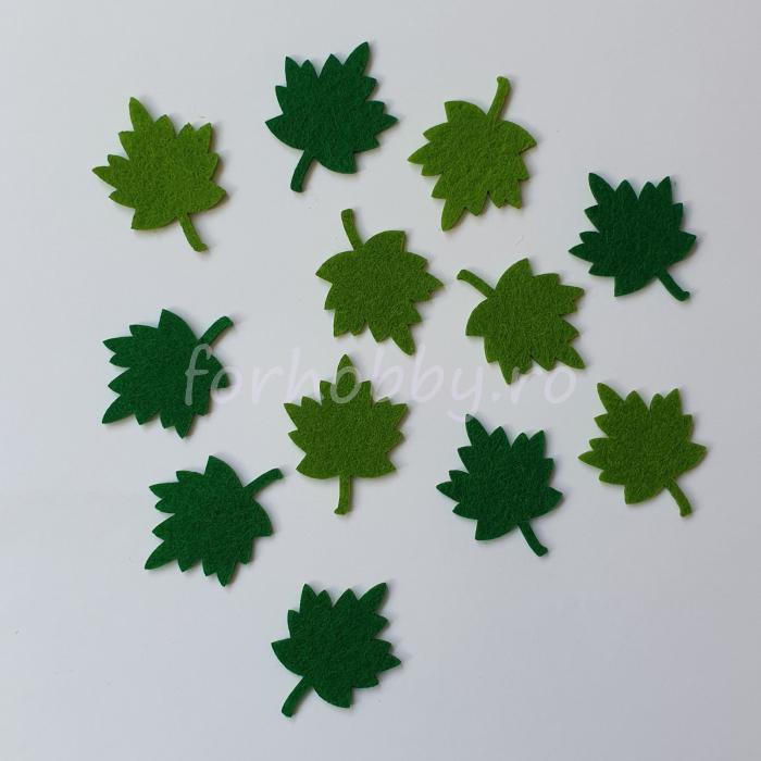 set-figurine-din-fetru-frunze-mici-pentart 0