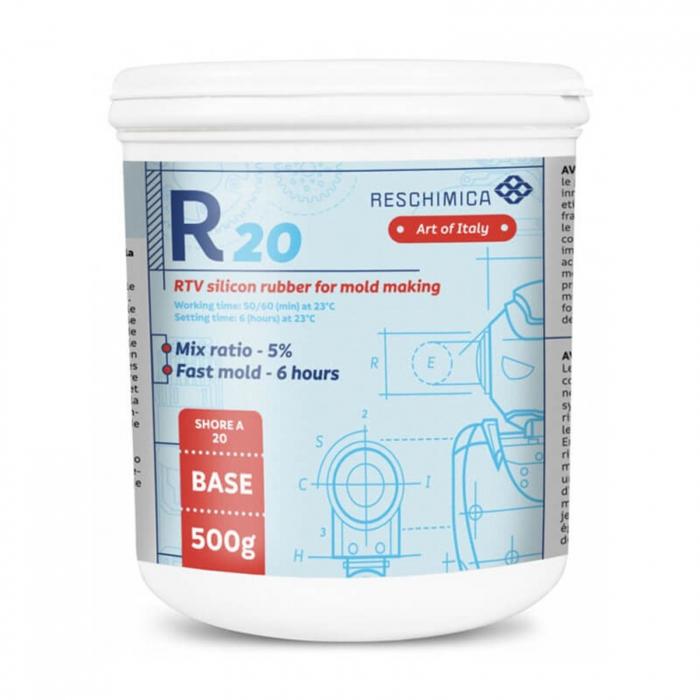cauciuc-siliconic-pentru-mulaje-flexibile-r20-525g-reschimica 0