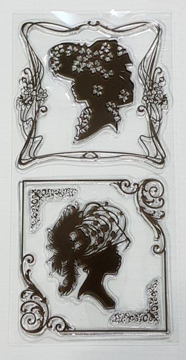 Stampile silicon Decor vintage 0