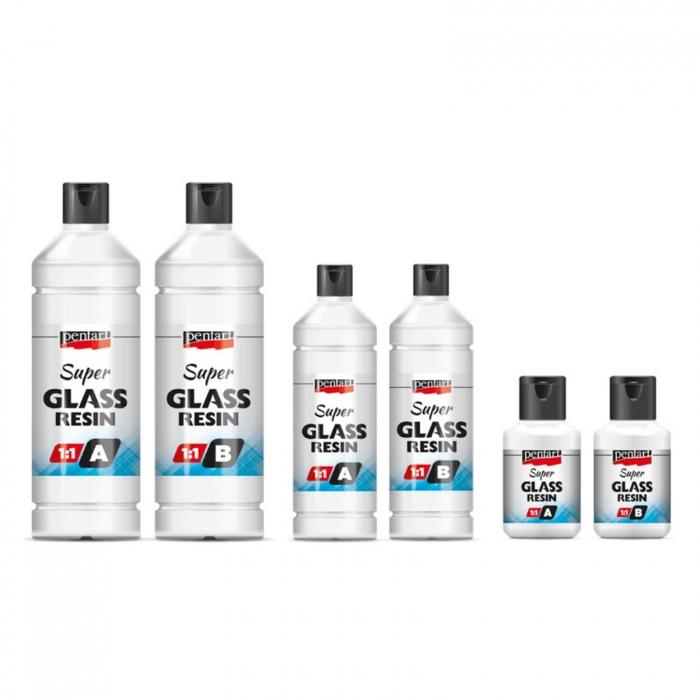 super-rasina-transparenta-sticloasa-bicomponent-1:1-pentart [0]