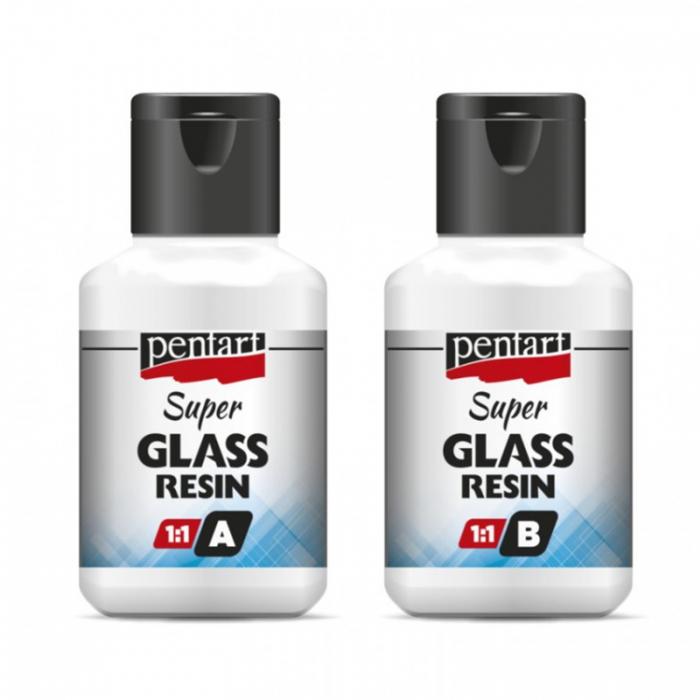 super-rasina-transparenta-sticloasa-bicomponent-1:1-pentart [1]
