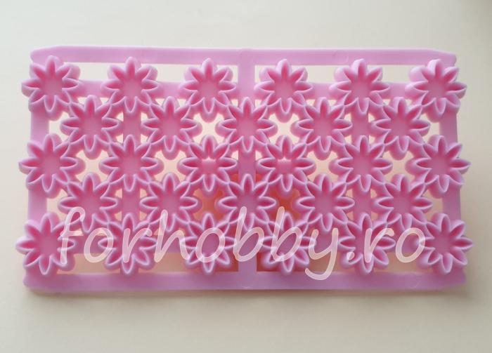 Textura Emboss - Flori 0