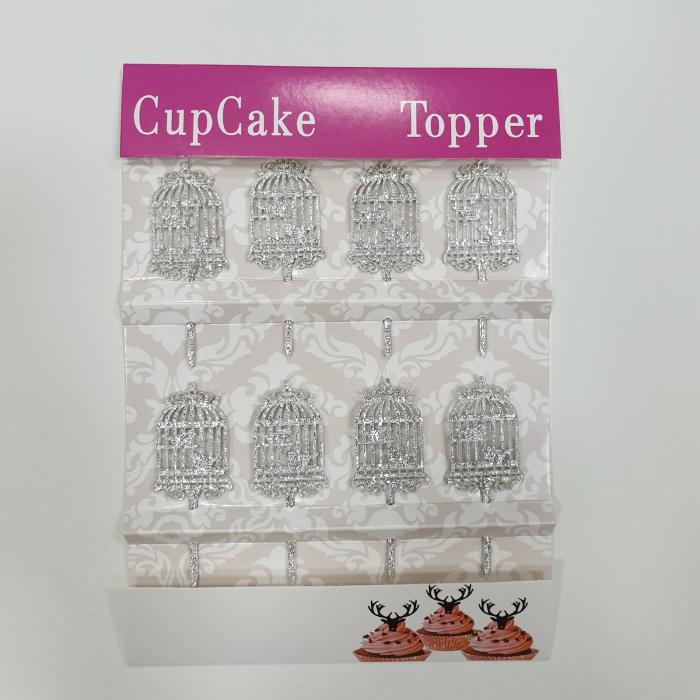 Cupcake Topper - Colivie de păsări 1