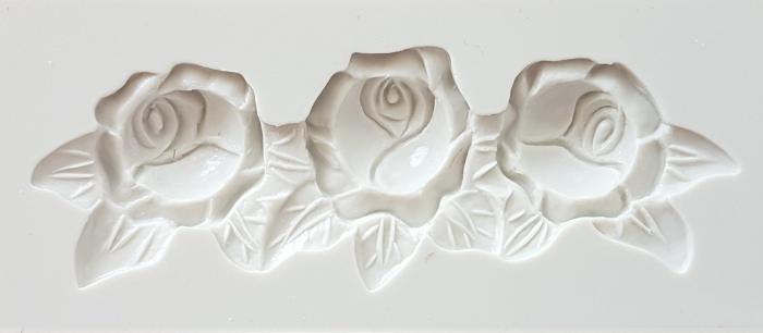 Mulaj din silicon trandafiri