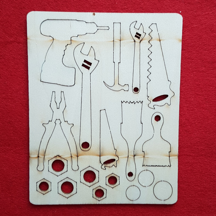 Figurine din lemn - Ustensile bricolaj