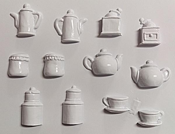 Matrita pentru turnat - Vase miniaturi 0