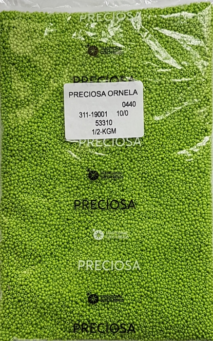 Margele nisip Preciosa Ornela 10/0 - Verde 53310 1