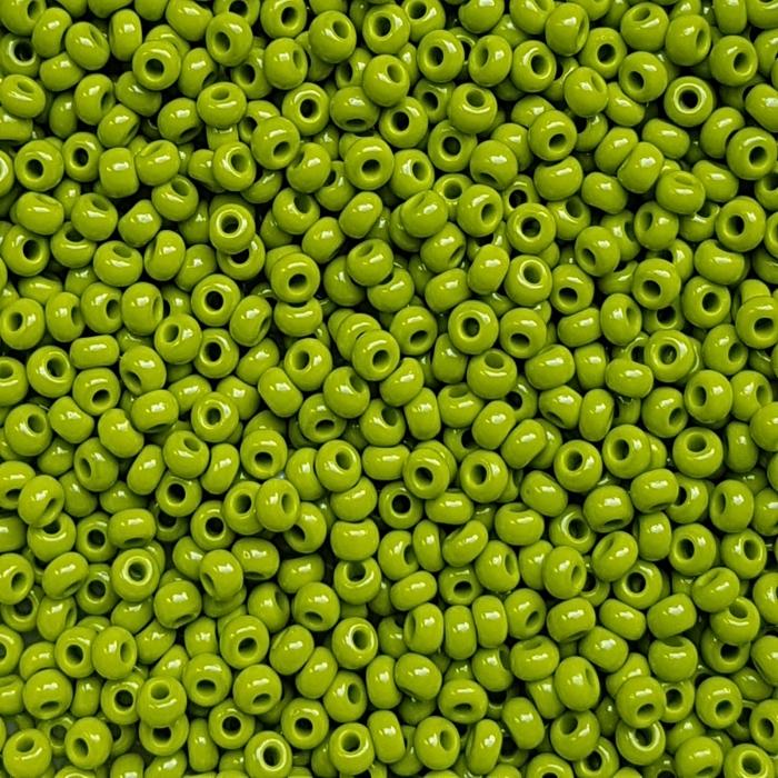 Margele nisip Preciosa Ornela 10/0 - Verde 53430