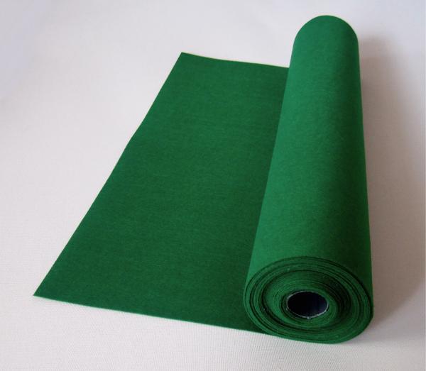Rola fetru verde 1mm grosime 0