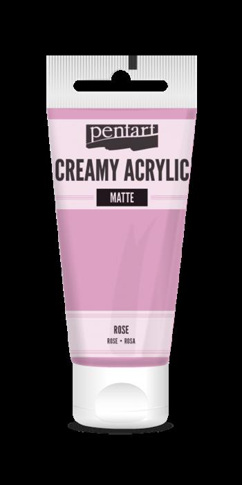 vopsea-acrilica-cremoasa-mata-60-ml-pentacolor-roz 0