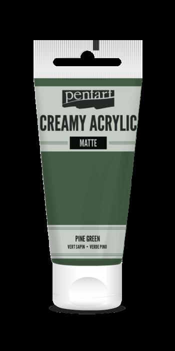 vopsea-acrilica-cremoasa-mata-60-ml-pentacolor-verde-brad 0