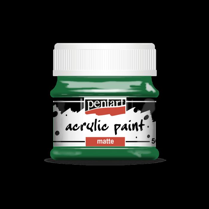 vopsea-acrilica-mata-50-ml-verde 0
