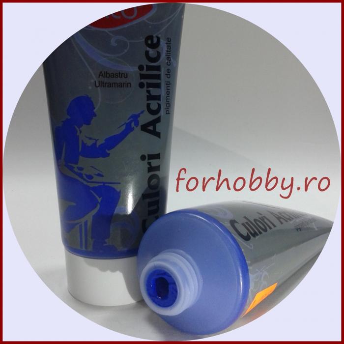 Vopsea acrilica 200ml Daco - Albastru ultramarin 1