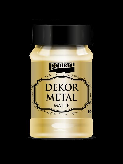 vopsea-decor-metalic-mat-100-ml-pentart-aur-35107 0