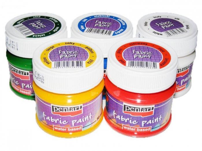 Vopsea mată pentru textile 50 ml 0
