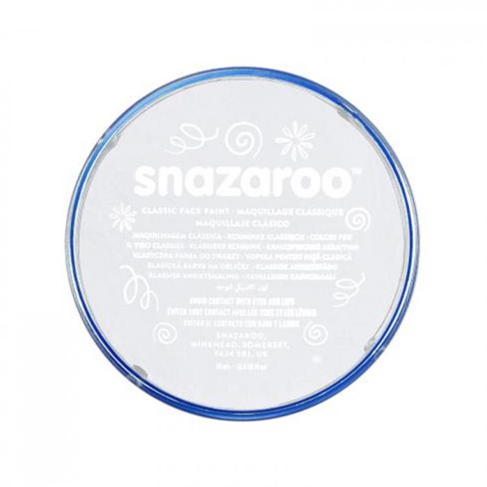 Vopsea pentru fata si corp Snazaroo Classic - Alb (White) 0