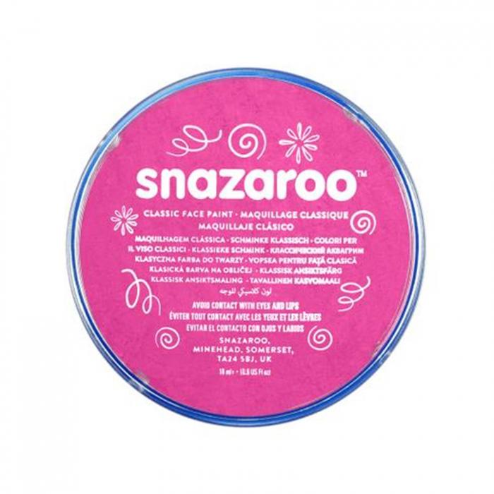 Vopsea pentru fata si corp Snazaroo Classic - Roz (Bright Pink) 0