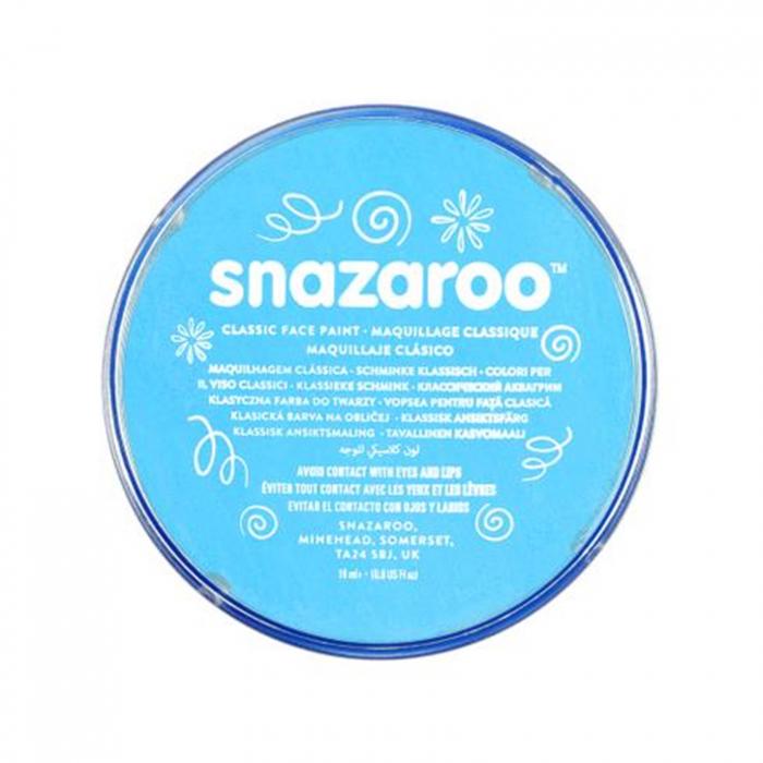 Vopsea pentru fata si corp Snazaroo Classic - Turcoaz (Turquoise) 0