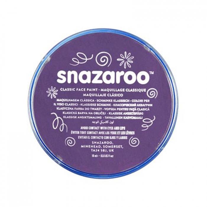Vopsea pentru fata si corp Snazaroo Classic - Violet (Purple) 0
