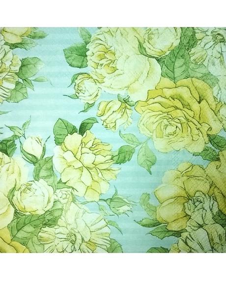 Servetel floral 0