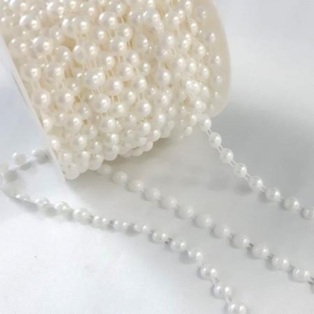 Șirag perle jumătăți 8 mm0