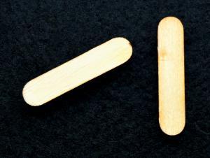 """Litera din lemn """"I"""" - 3.2 x 0.7 x 0.2 cm1"""